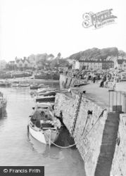 Saundersfoot, The Harbour c.1965