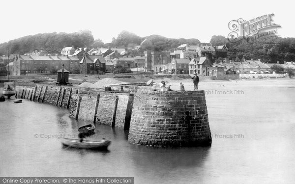 Saundersfoot, the Pier 1925