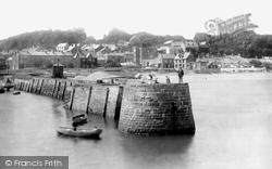 Saundersfoot, The Pier 1925