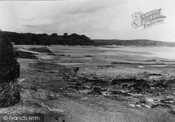 Saundersfoot, The Sands c.1935
