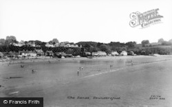Saundersfoot, The Sands c.1965