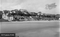 Saundersfoot, The Village And Sands 1949