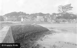 Saundersfoot, The Village From Harbour Wall 1949