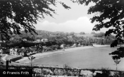 Saundersfoot, View From St Brides Hotel c.1948