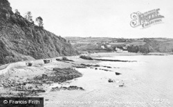 Saundersfoot, View Looking Towards Wiseman's Bridge c.1960
