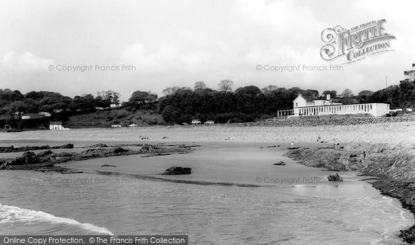 Saundersfoot, Wisemans Bridge Inn c1965