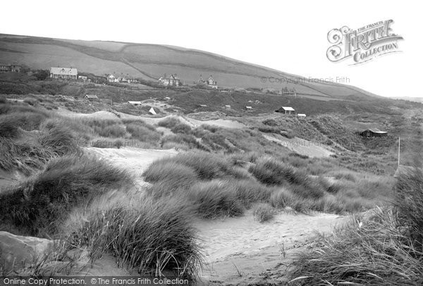 Photo of Saunton, Sands 1920, ref. 69406