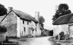 Saunton, Old Cottages 1903