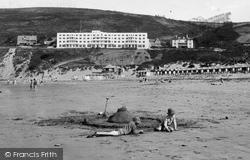 Saunton, On The Sands 1935