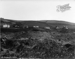 Saunton, Sands From The Burrows 1900