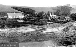 Saunton, St Ann's Church And Vicarage 1912