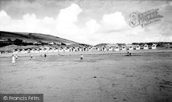 Saunton, The Beach c.1955