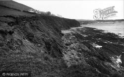 Saunton, The Cliffs 1938