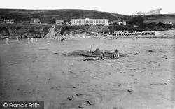 Saunton, The Sands 1935