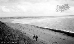 Saunton, The Sands  c.1960