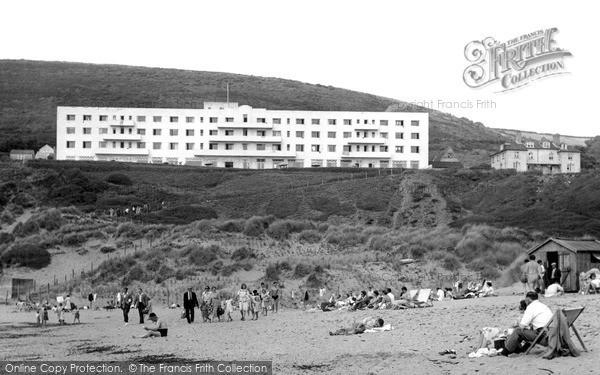 Photo of Saunton, the Saunton Sands Hotel c1955