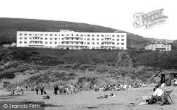 Saunton, The Saunton Sands Hotel c.1955