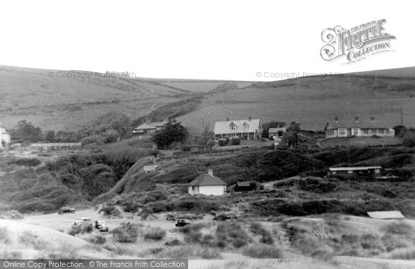 Photo of Saunton, view from Sandhills c1950