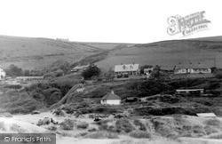 Saunton, View From Sandhills c.1950