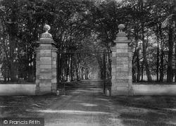 Savernake, Entrance To Savernake Forest 1901