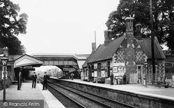 Savernake, Forest Station 1907