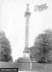 Savernake, Forest, The Column 1902