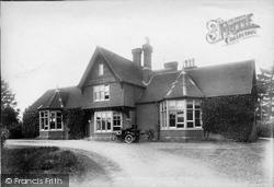 Savernake, Hospital 1902