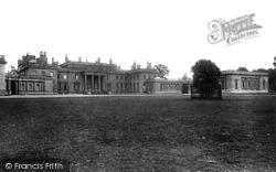 Savernake, Tottenham House 1902