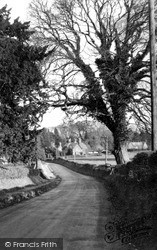 Savernake, Village c.1955