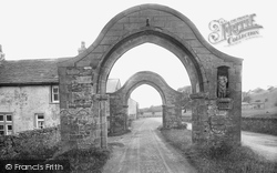 Sawley, Roman Arches 1921