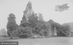 Sawley, The Abbey Ruins 1894