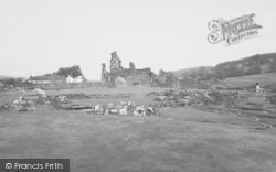 Sawley, The Abbey Ruins c.1965