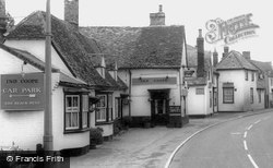 The Black Bull And The White Lion c.1965, Sawston