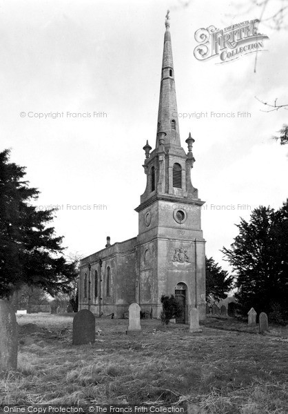 Photo of Saxby, St Peter's Church c.1955