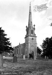 Saxby, St Peter's Church c.1955