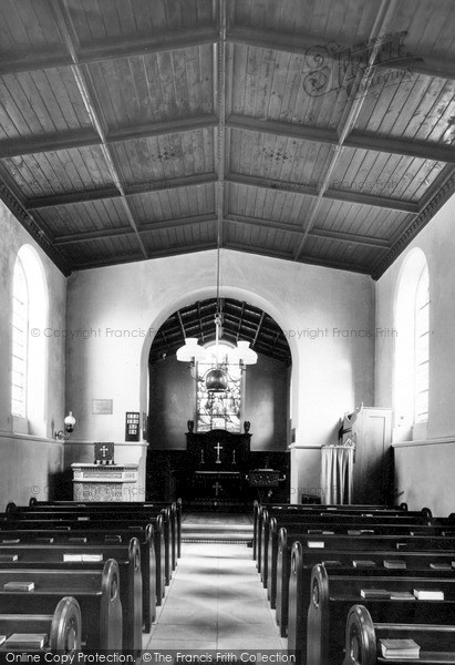 Photo of Saxby, The Church Nave c.1955