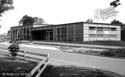 Saxilby, County Library c.1965