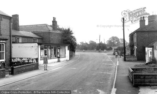 Photo of Saxilby, High Street c1965