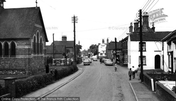 Photo of Saxilby, High Street c.1965