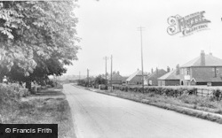 Saxilby, Mill Lane c.1955