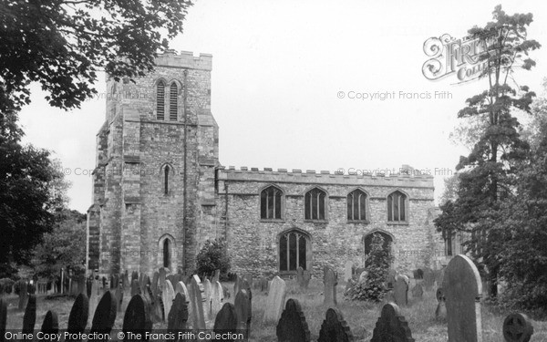 Photo of Saxilby, St Botolph's Church c.1955