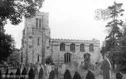 Saxilby, St Botolph's Church c.1955