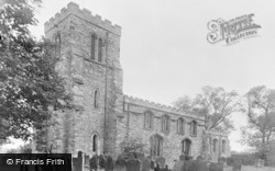 Saxilby, St Botolph's Church c.1960
