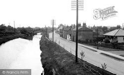 Saxilby, Waterside c.1955