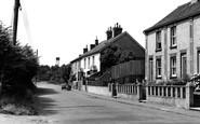 Saxmundham, Mill Road c1955
