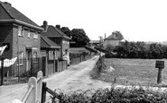 Saxmundham, Police Station and Clinic c1955