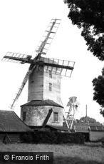 Saxtead, Windmill c1955