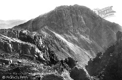 Scafell Pike, And Mickledore Chasm 1889