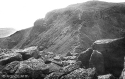 Scafell Pike, Path To The Summit 1889