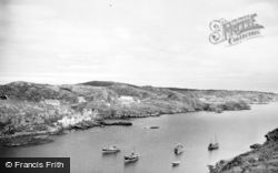 Scalpay, Laggandoin And South Harbour c.1960